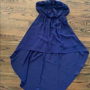 NEVER WORN cute dark blue cocktail dress